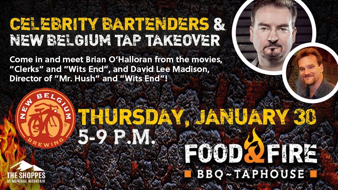 Celebrity Bartender and New Belgium Brewing Tap Takeover