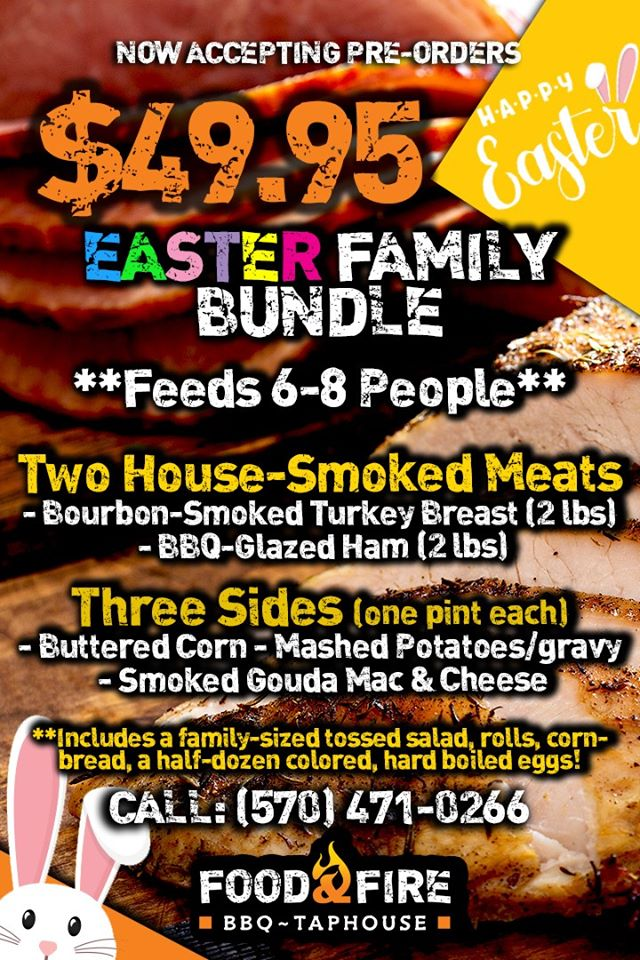Food and Fire Easter Bundle