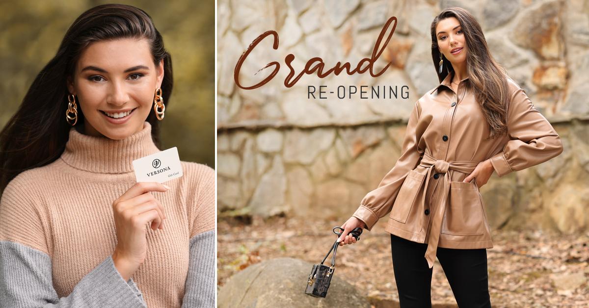 Versona Grand Re-Opening